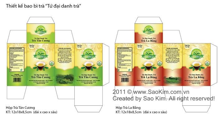 Thiết kế thương hiệu cho sản phẩm Chè Thái Nguyên tại Thái Nguyên