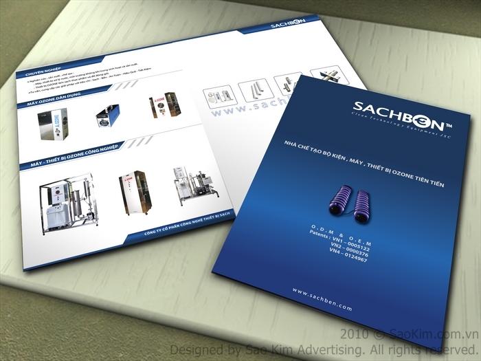 Thiết kế profile công ty công nghệ Thiết Bị Sạch tại Hà Nội
