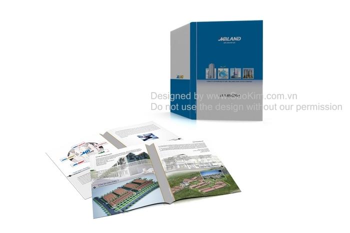 Thiết kế profile cho Công ty địa ốc MBLand tại Hà Nội