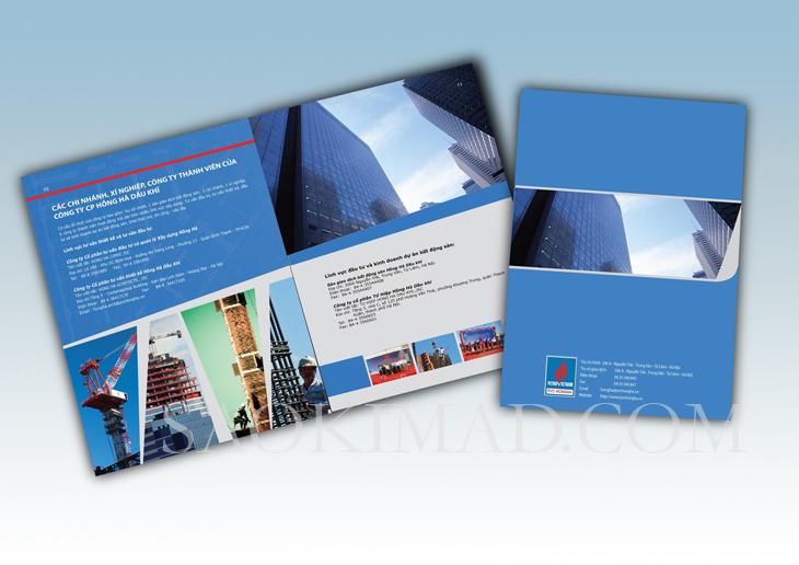Thiết kế profile cho Công ty Hồng Hà Dầu Khí tại Hà Nội