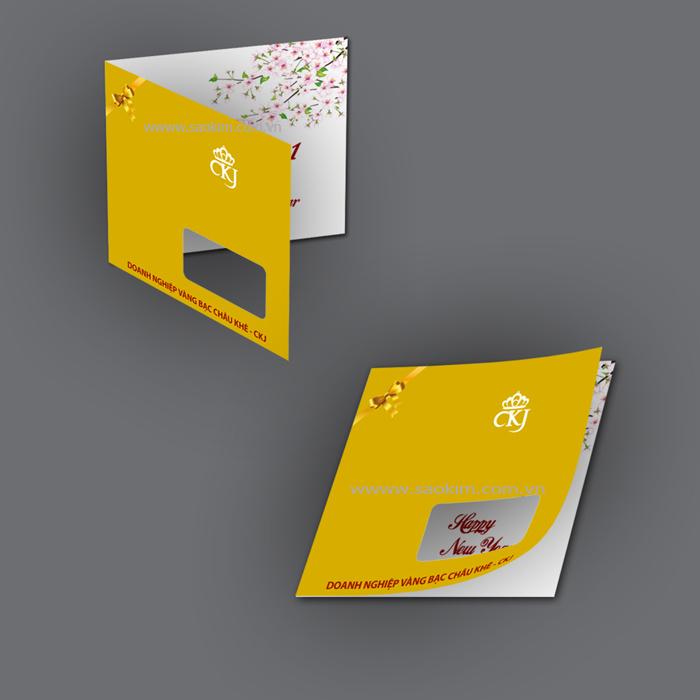 Thiết kế nhận diện thương hiệu cho vàng bạc CKJ tại Hải Dương