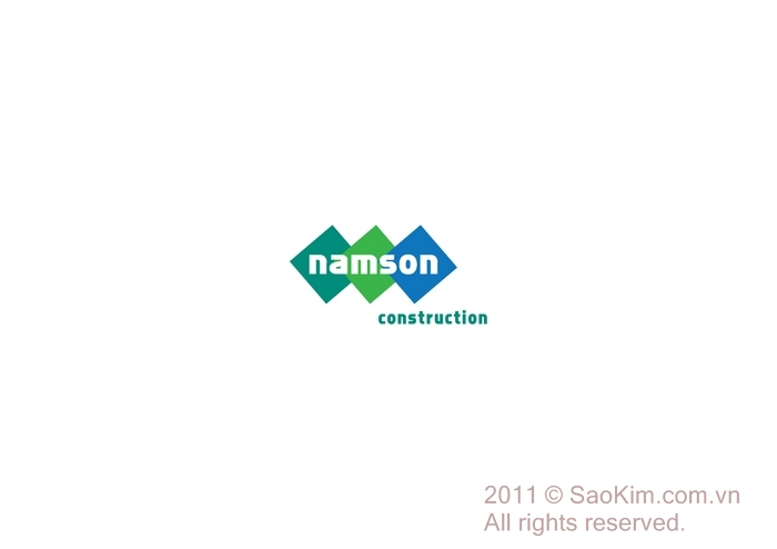Thiết kế nhận diện thương hiệu Xây dựng Nam Sơn tại Hà Nội