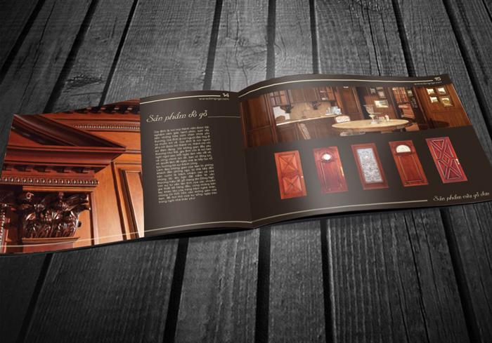 Thiết kế profile công ty đồ gỗ và trang trí nội thất Đông Ngô tại Hà Nội, TP HCM