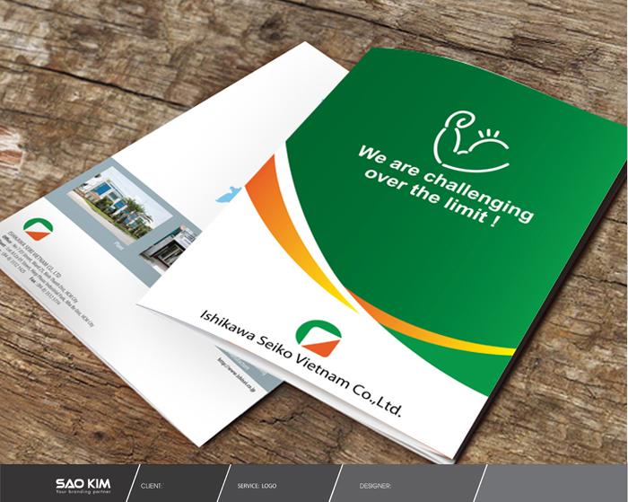 Thiết kế Brochure cho công ty TNHH ISHIKAWA SEIKO VIET NAM tại TP HCM