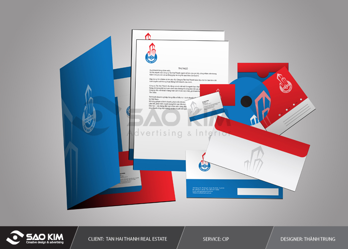 Thiết kế nhận diện thương hiệu bất động sản tại TP HCM