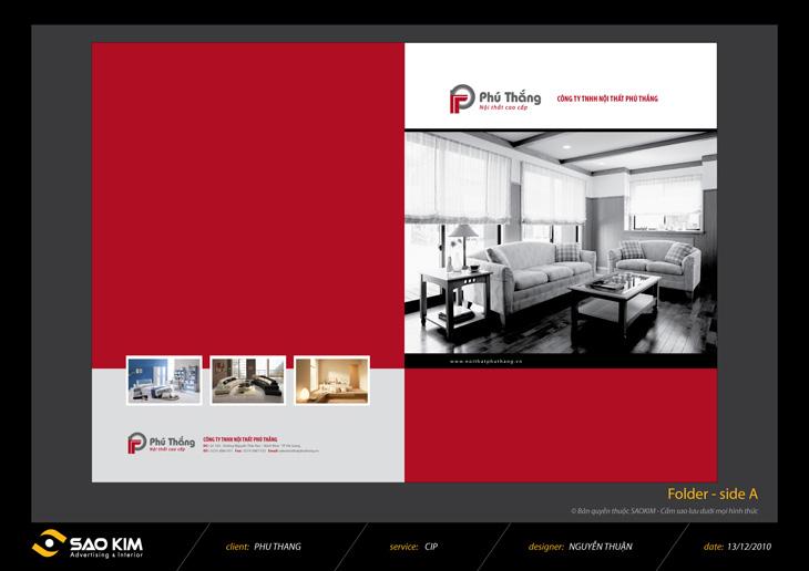 Thiết kế nhận diện thương hiệu nội thất tại Hòa Bình