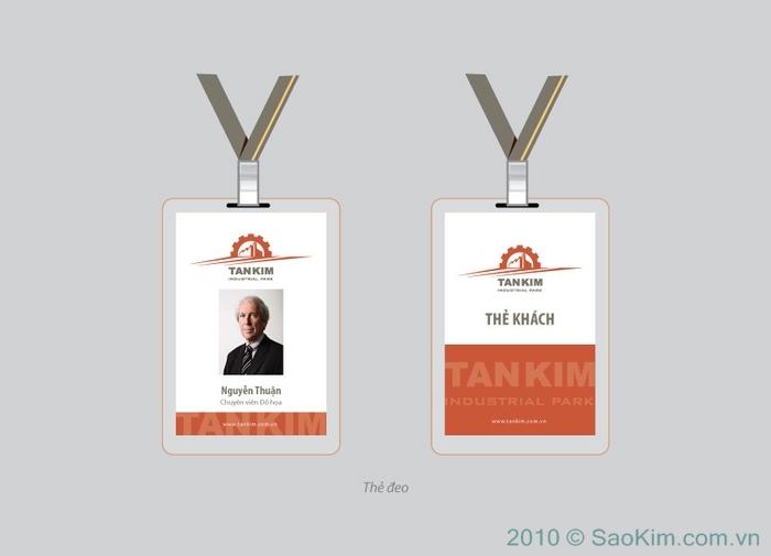 Thiết kế nhận diện thương hiệu cho Tân Kim tại Long An