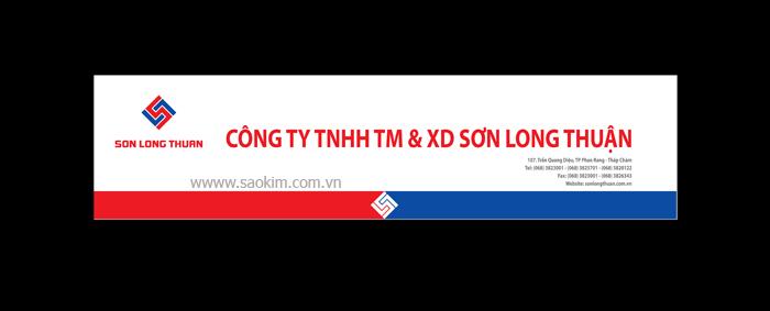 Thiết kế nhận diện thương hiệu cho Sơn Long Thuận tại TP HCM