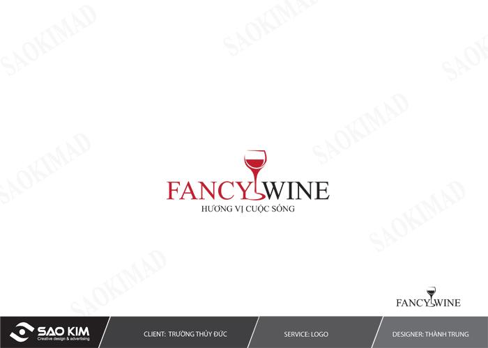 Thiết kế nhận diện thương hiệu cho Fancy Wine tại Hà Nội
