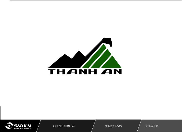 Thiết kế logo và nhận diện thương hiệu cho Công ty khoáng sản Thành An tại Bình Định