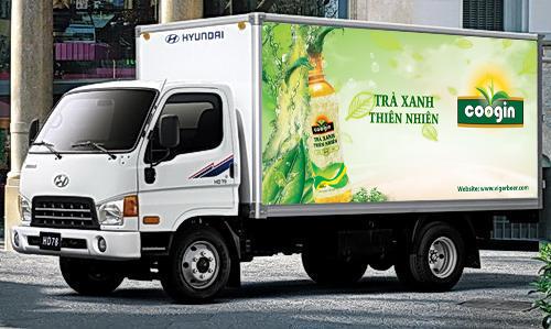 Thiết kế thương hiệu cho trà xanh đóng chai tại Phú Thọ
