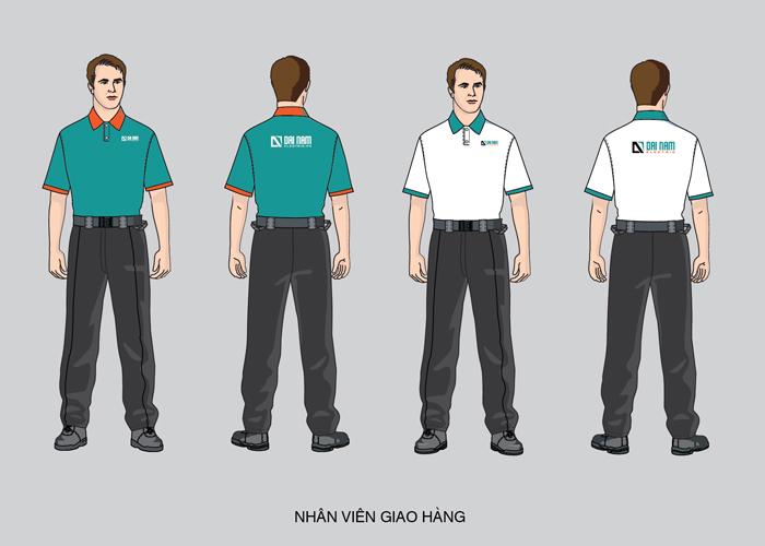Thiết kế nhận diện thương hiệu công ty Điện Đại Nam tại TP HCM