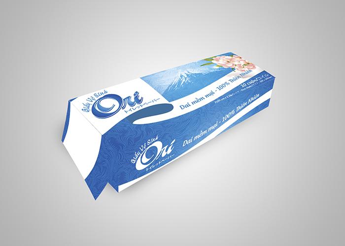 Thiết kế bao bì giấy vệ sinh DPS tại Nghệ An
