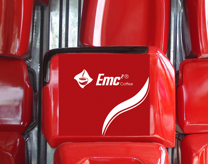 Thiết kế nhận diện thương hiệu EMC2 COFFEE tại TP HCM