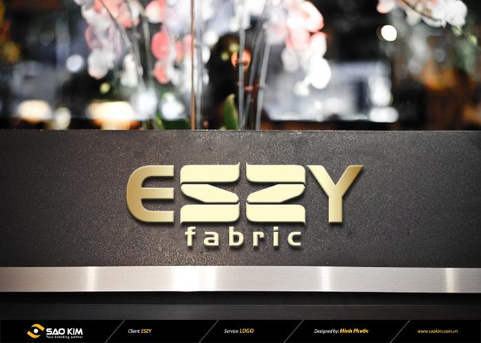 Thiết kế logo thương hiệu vải sợi ESZY tại Đồng Nai