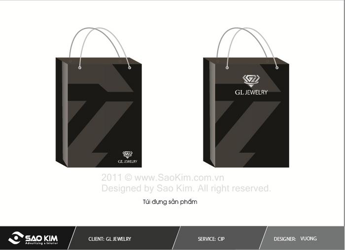Thiết kế thương hiệu thời trang GL Jewelry tại Hải Phòng