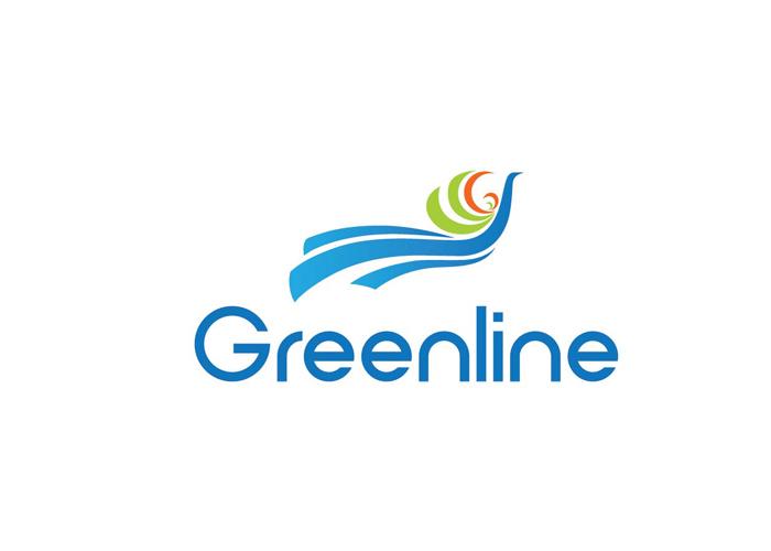 Thiết kế logo thương hiệu du lịch Greenline Tour tại Hà Nội, TP HCM