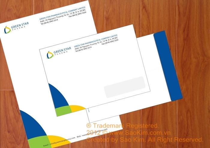 Thiết kế thương hiệu dược phẩm GreenStar tại TP HCM