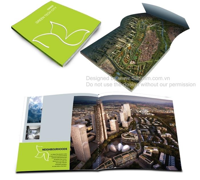 Thiết kế brochure Green Tech City Hanoi tại Hà Nội