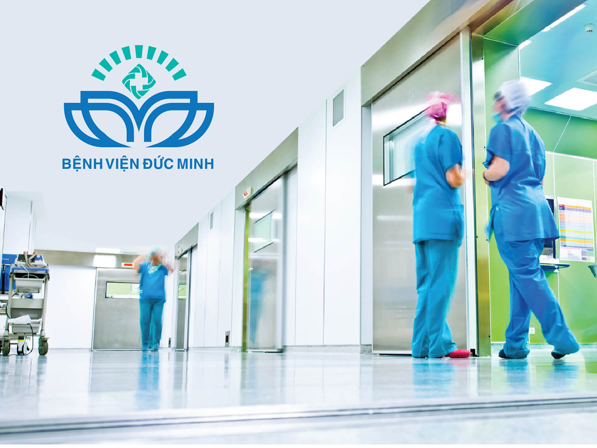 ĐỨC MINH - Thiết kế logo và nhận diện bệnh viện Đức Minh
