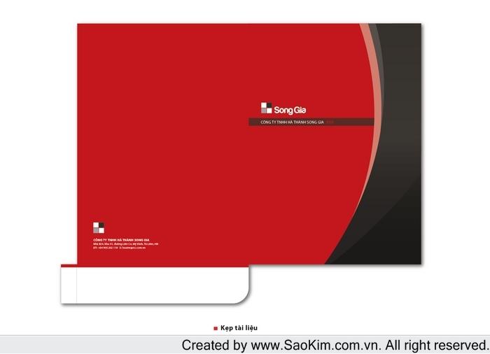 Thiết kế logo và hệ thống nhận diện cho công ty Hà Thành Song Gia tại Hà Nội