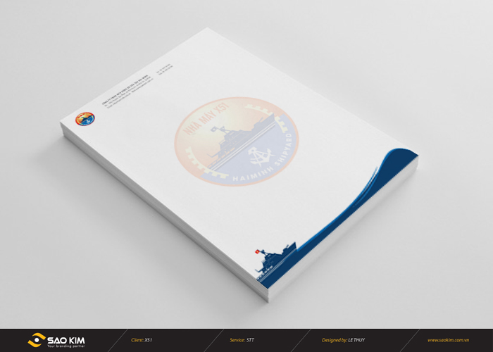 Thiết kế logo Công ty Đóng và sửa tàu Hải Minh tại TP HCM