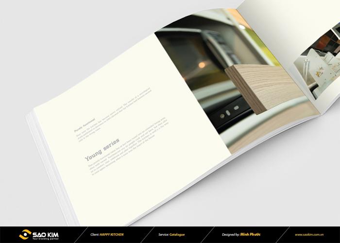 Thiết kế catalogue Happy Kitchen tại Bình Dương, TP HCM