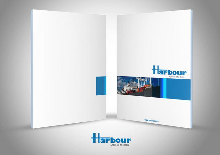 HARBOUR LOGISTICS - Thiết kế brochure giới thiệu công ty Harbour Logistics