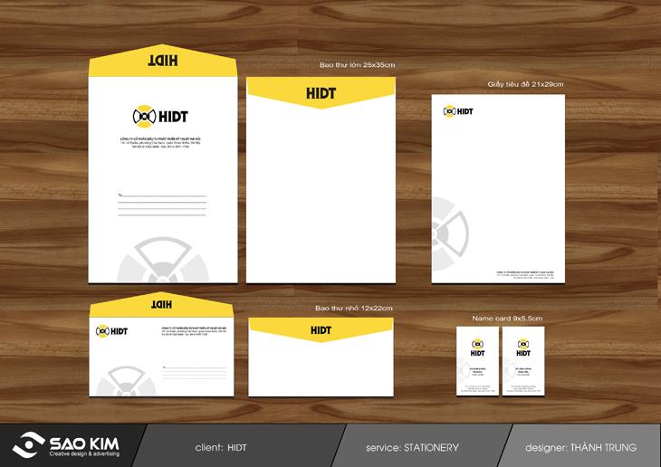 Thiết kế logo và nhận diện thương hiệu HIDT tại Hà Nội