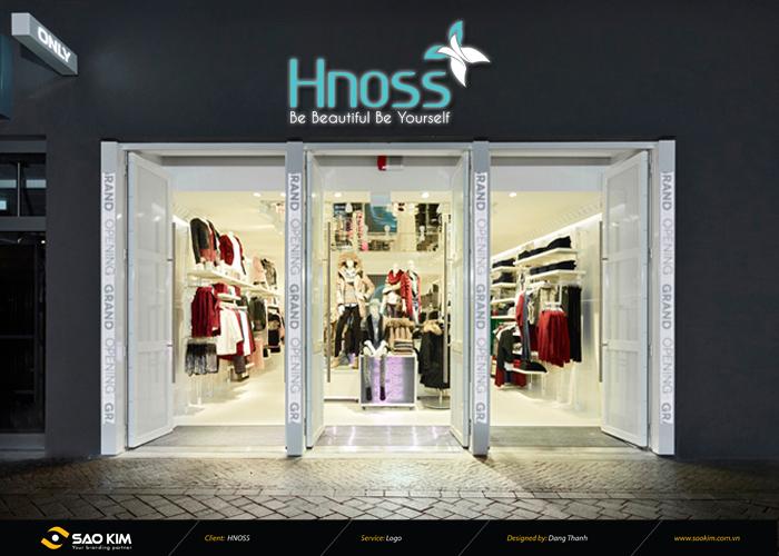 Tái thiết kế nhận diện thương hiệu thời trang HNOSS tại Hà Nội, TP HCM