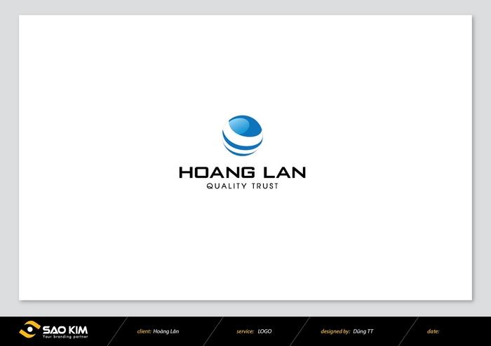 Thiết kế logo doanh nghiệp bán lẻ Hoàng Lân tại An Giang