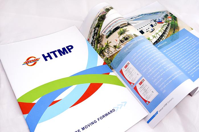 Thiết kế profile Công ty HTMP Việt Nam tại Hà Nội