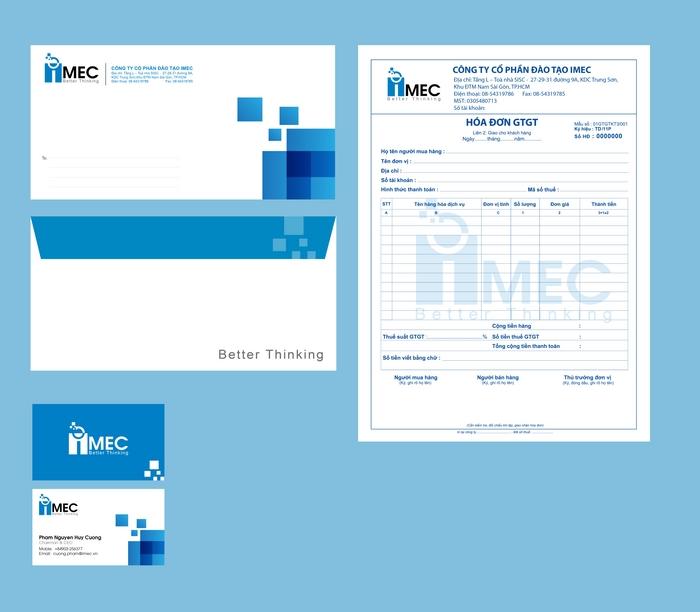 Thiết kế thương hiệu đào tạo IMEC tại TP HCM