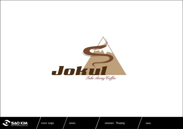 Thiết kế logo cửa hàng cà phê JOKUL tại TP HCM