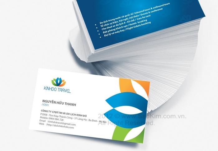 Thiết kế thương hiệu cho công ty du lịch tại Hà Nội