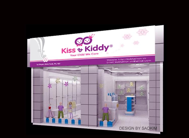 Thiết kế logo nhận diện thương hiệu chuỗi cửa hàng trẻ em Kid & Kiddy tại Hà Nội