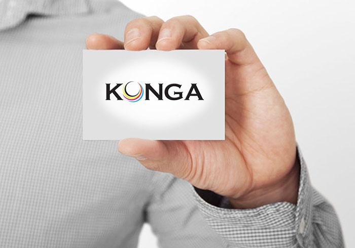 Thiết kế logo Konga company tại Hà Nội, Quốc tế, TP HCM