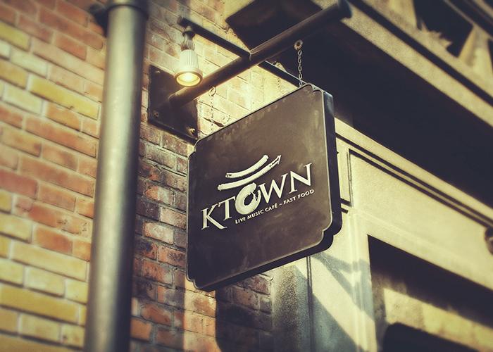 Thiết kế thương hiệu cho nhà hàng cafe KTown tại Hà Nội