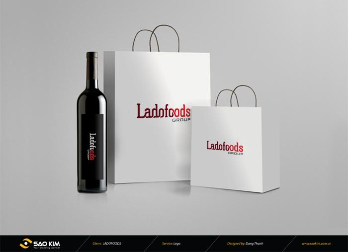 Thiết kế logo nhận diện thương hiệu Ladofoods tại Lâm Đồng