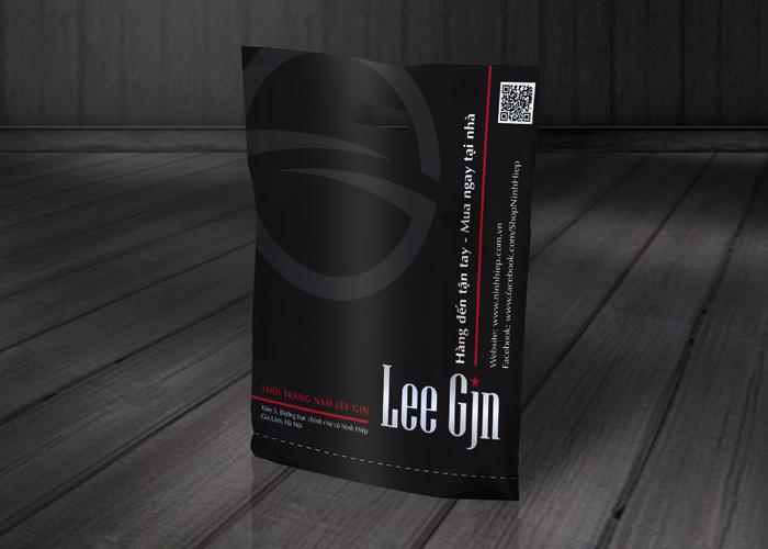 Thiết kế thương hiệu thời trang nam Lee Gjn tại Hà Nội
