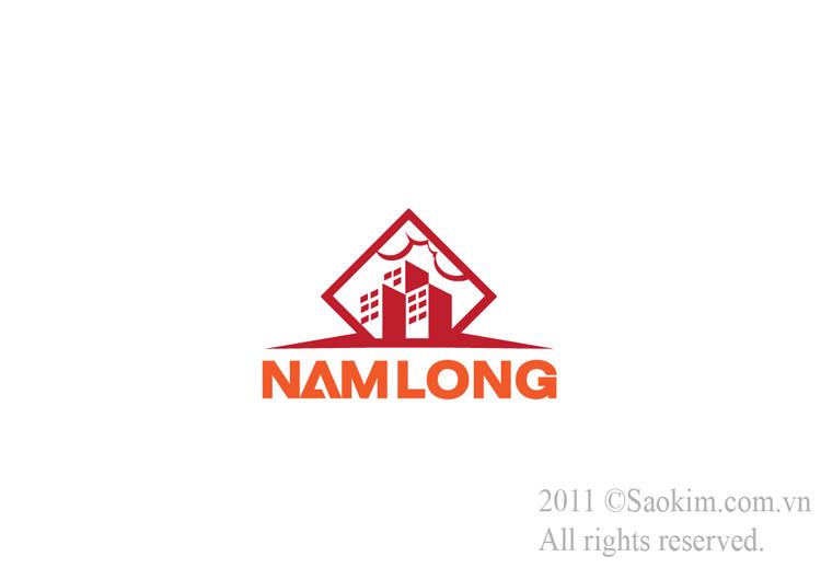 Thiết kế thương hiệu cho công ty xây dựng Nam Long tại Bà Rịa Vũng Tàu