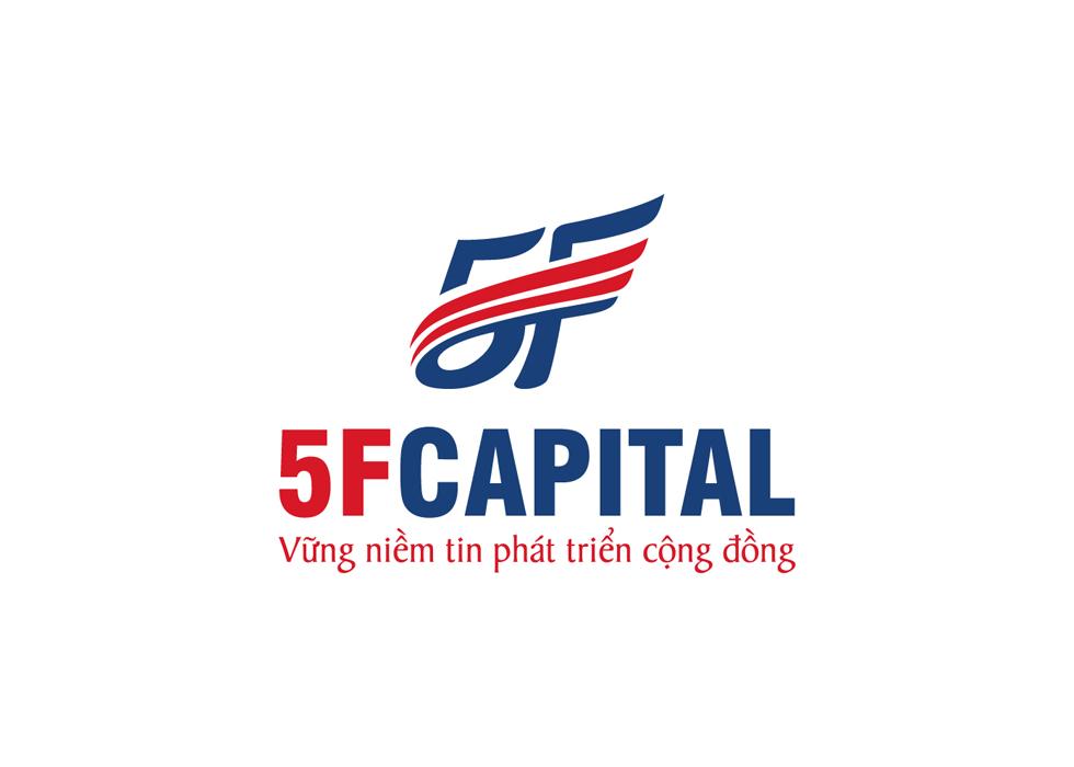 Thiết kế logo và hệ thống nhận diện thương hiệu cho công ty đầu tư - bất động sản 5F Capital tại TP HCM