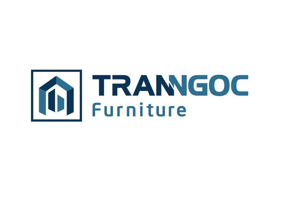 Thiết kế logo cho doanh nghiệp sản xuất nội ngoại thất Trần Ngọc tại Bình Dương