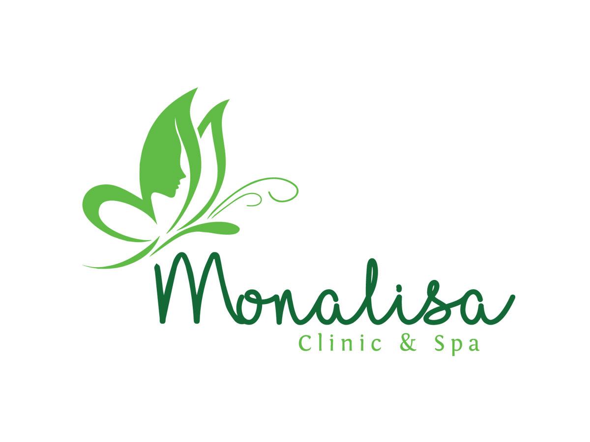 Thiết kế logo Monalisa spa tại Hà Nội