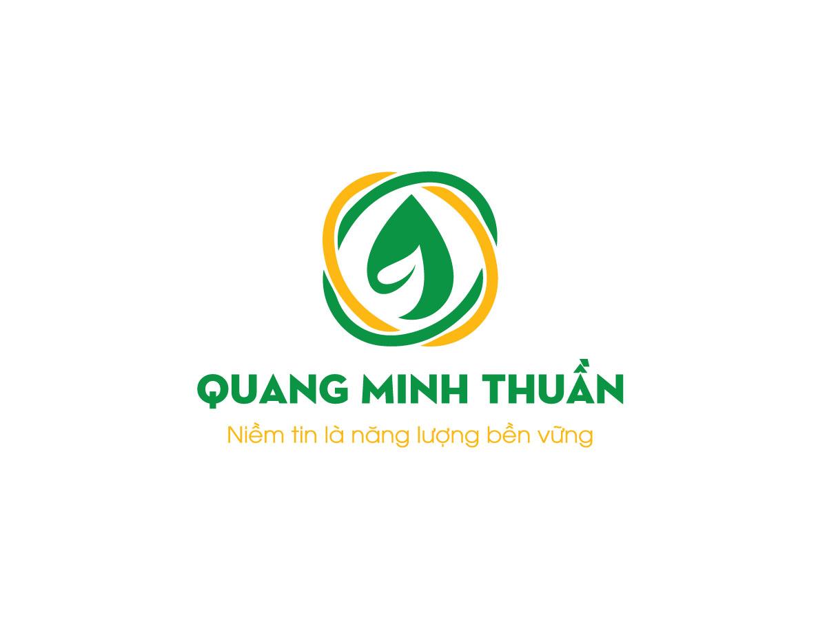 Thiết kế logo và nhận diện công ty Quang Minh Thuần tại Bình Thuận