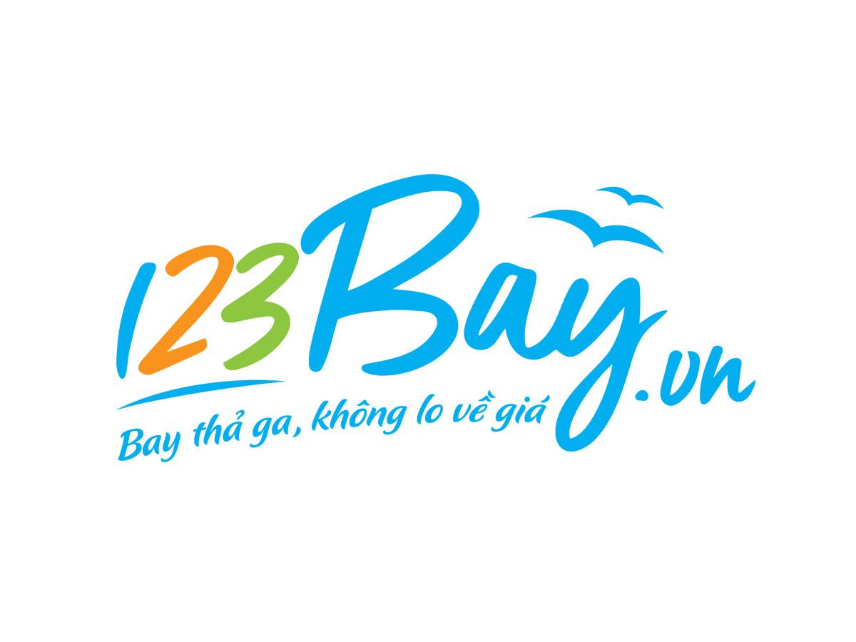 Thiết kế nhận diện thương hiệu 123 Bay tại TP HCM