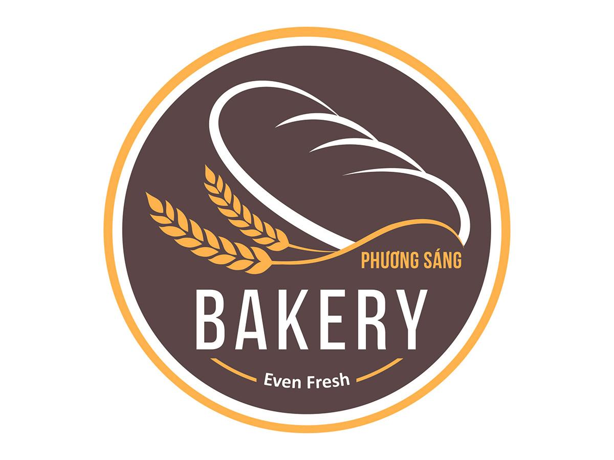 Thiết kế logo Phương Sáng Bakery tại Kiên Giang