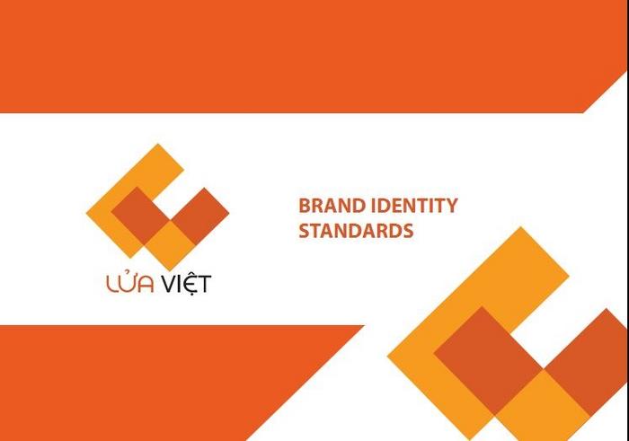 Thiết kế logo công ty  đầu tư khai thác khoáng sản Lửa Việt tại Hà Nội, TP HCM