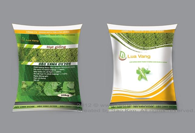 Thiết kế logo và hệ thống nhận diện cho Công ty Lúa Vàng tại TP HCM
