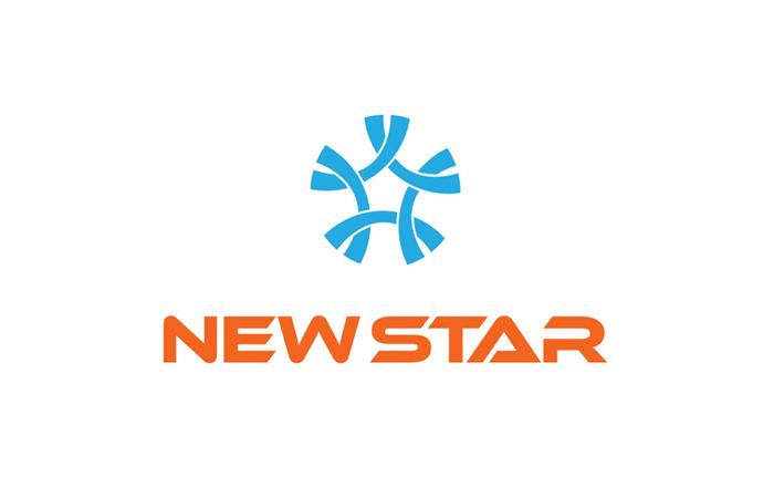Thiết kế logo cho Công ty xây dựng Newstar tại Hà Nội, TP HCM